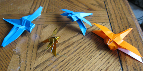 Origami DragonFlies