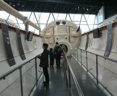 Shuttle Mockup